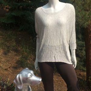 Eileen Fisher Linen Batwing Long Sleeve Shirt